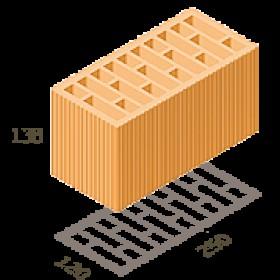 Керамический блок Керамейя Теплокерам 2НФ