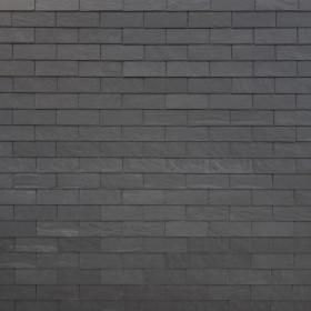 Фасадный сланец Cupa Горизонтальная кладка